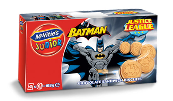 McVitie's Junior JL Batman