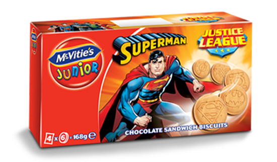 McVitie's Junior JL Superman