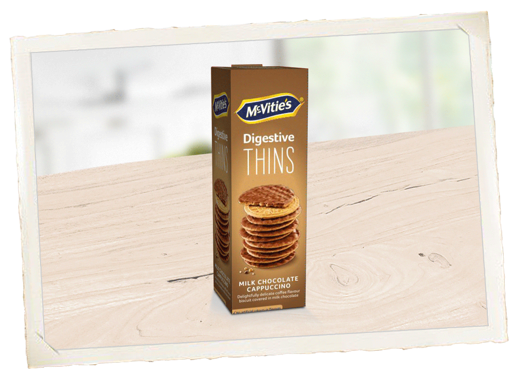 McVitie's Digestive Thins Cappuccino Suomi