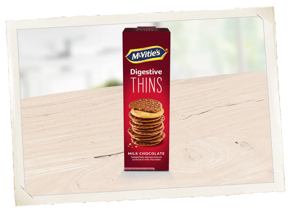 McVitie's Digestive Thins Milk Chocolate Suomi